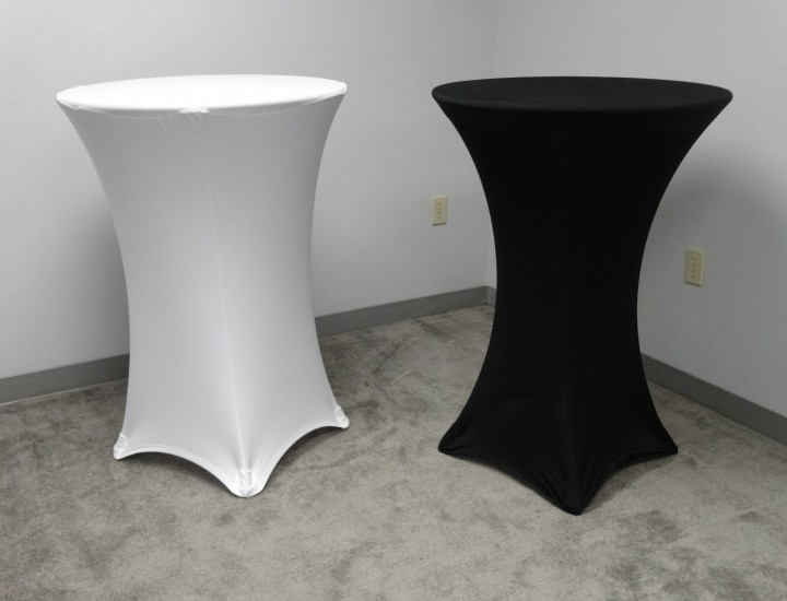 Spandex Cocktail Tables