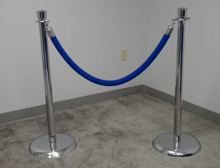 Chrome stands